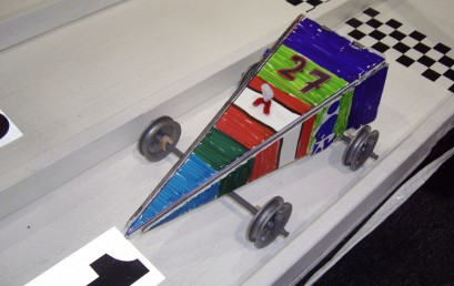 Pinewood Mini Race Car